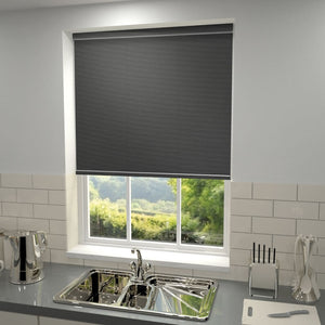 Mercia Blackout Roller Blind Graphite
