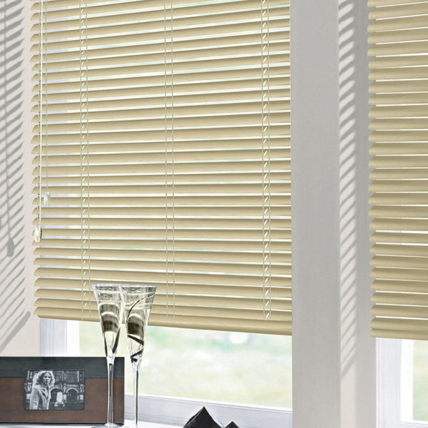25mm Nova Aluminium Venetian Blind Latte Free Sample
