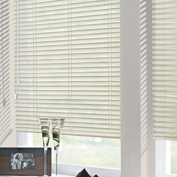 25mm Nova Perforated Aluminium Venetian Blind Cream Free Sample