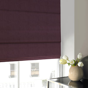 Olympia Roman Blind Berry