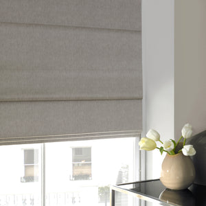 Olympia Roman Blind Pewter