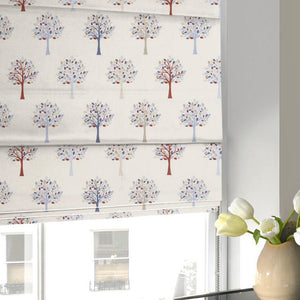 Orchard Roman Blind Blue
