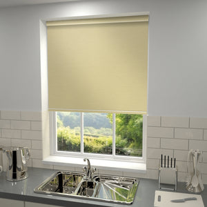 Elements Blackout Roller Blind Antique Cream