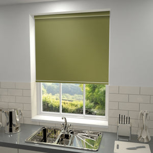 Elements Blackout Roller Blind Avacado