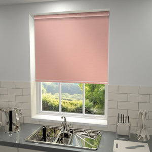 Elements Blackout Roller Blind Dusky Rose