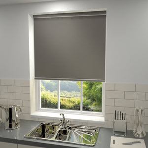 Elements Blackout Roller Blind Granite