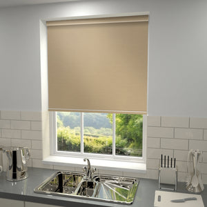 Elements Blackout Roller Blind Latte