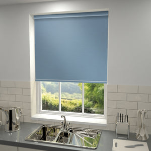 Elements Blackout Roller Blind Sky Blue