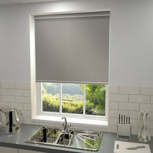 Elements Blackout Roller Blind Steel