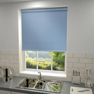 Elements Roller Blind Sky Blue