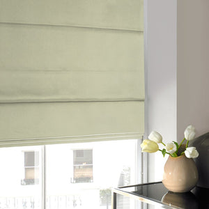 Silky Roman Blind Green