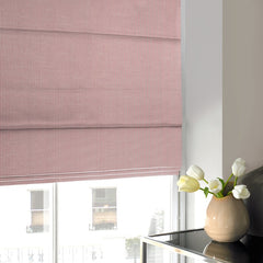 Swing Roman Blind Strawberry