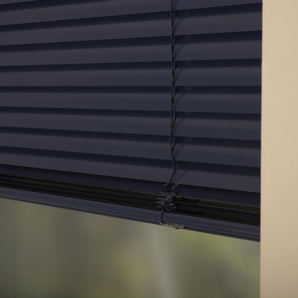 25mm Premier Aluminium Blinds Navy