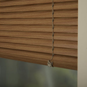 25mm Premier Aluminium Blinds Woodline 9404