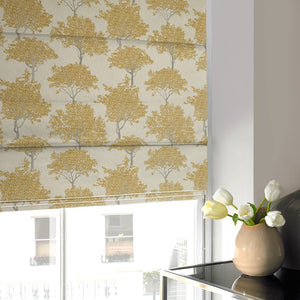 Trees Roman Blind Dijon
