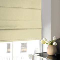 Tyrone Roman Blind Cream Cream
