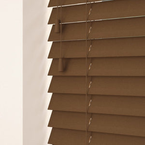 35mm Primary Wood Venetian Blinds Walnut