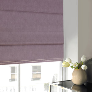 Willow Roman Blind Heather