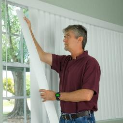 Replacing Slats on a Vertical Blind