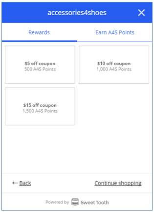 A4S Redeem Points