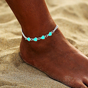 Luminous Tassel Anklet Bracelet Chain - Accessories for shoes
