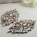 Rhinestone Crystal Hotfix Applique - Accessories for shoes