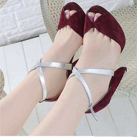 One-pair 58cm Women Shoe Decoration Cross-tie Belt Strap - Accessories for shoes