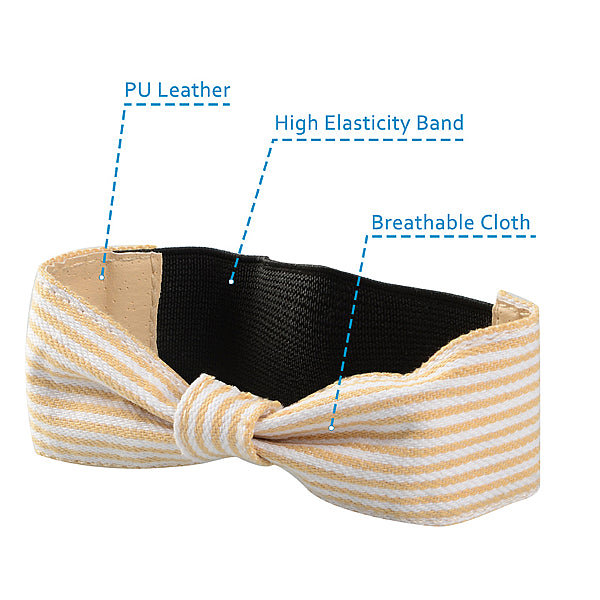 Detachable PU Leather Bow Shoe Strap Band - Accessories for shoes