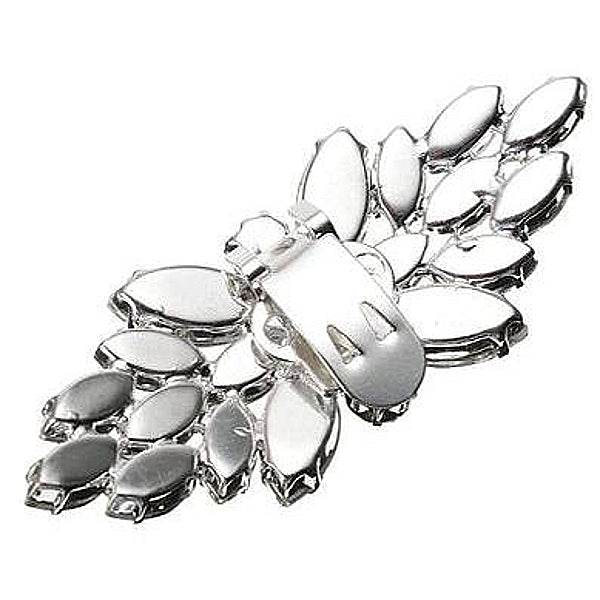 Crystal Butterfly Rhinestone Shoe Clip - Accessories for shoes