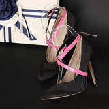 58cm Women Shoe Decoration Cross-tie Belt Strap - Accessories for shoes