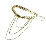 Metal Punk Diamond Tassel Chain - Accessories for shoes