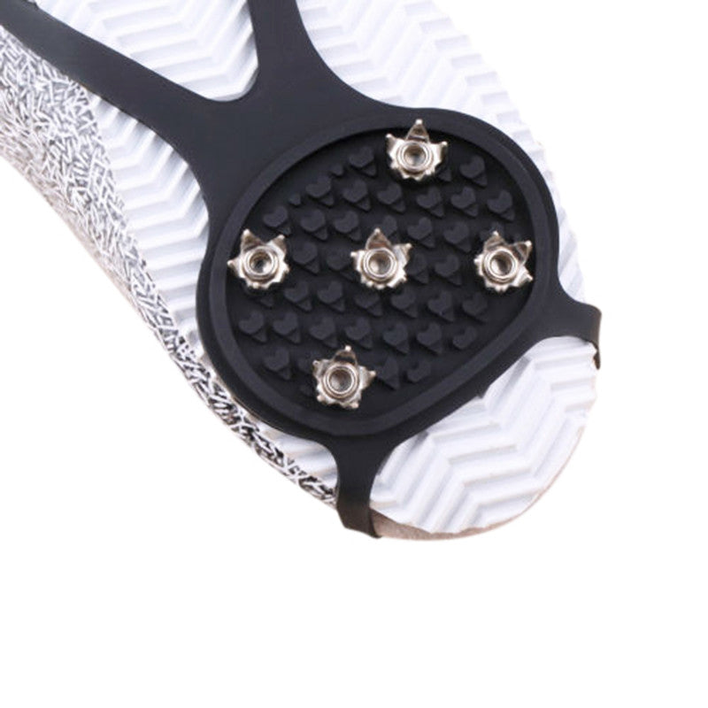 One-pair Walking Cleat Ice Gripper - Accessories for shoes