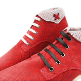 12pcs/set Flat Elastic Silicone Shoelaces - Accessories for shoes