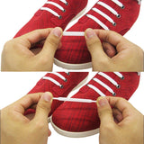 No-Tie Flat Elastic Silicone Shoelaces - Accessories for shoes