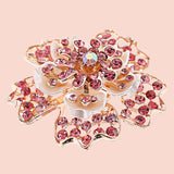 Flower Crystal Shoe Buckle - Accessories for shoes