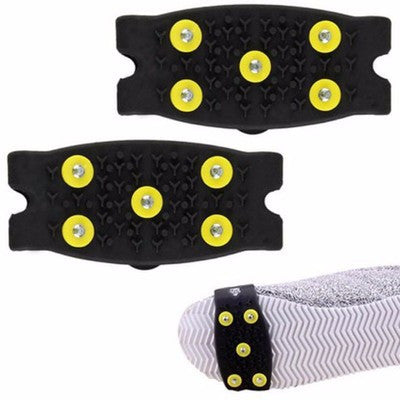 One-pair Anti Slip Spikes Snow-Ice Cleats - Accessories for shoes
