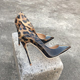 Leopard Print High Heels Pumps - Accessories for shoes