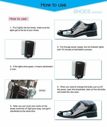 New UV Shoe Sterilizer - Accessories for shoes