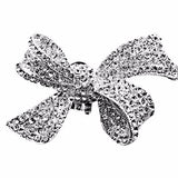 One-pair Flower Bow A Grade Rhinestones Shoe Clip - Accessories for shoes