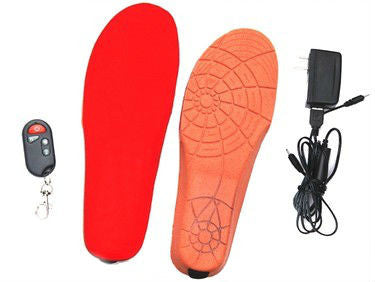 One-pair Heating Shoe-pad Battery Powered With Wireless Remote - Accessories for shoes