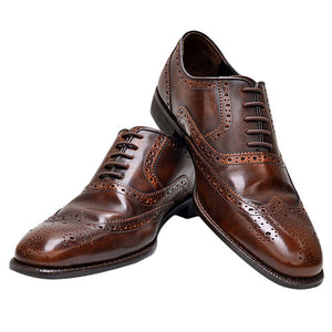 No-Tie Elastic Silicone Shoelaces For Leather Shoes - Accessories for shoes