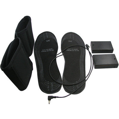 One-pair Eco Friendly Battery Heated Shoes Insoles - Accessories for shoes