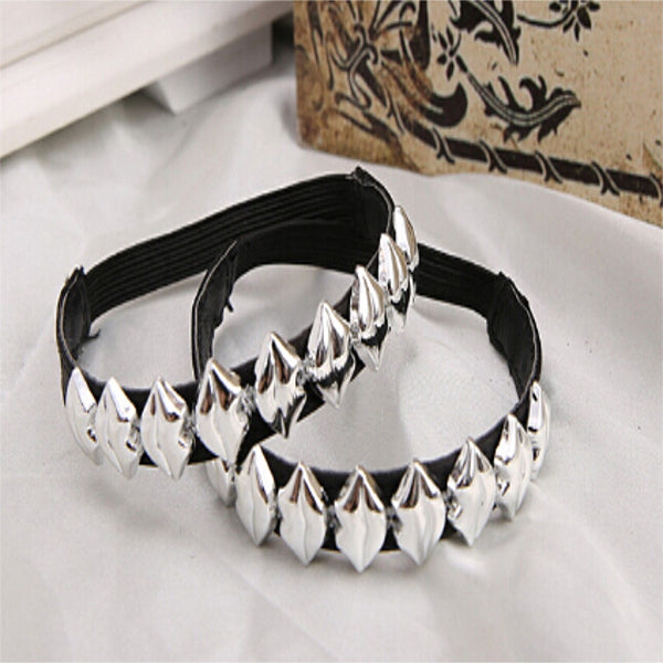 Metallic Lips Charm Shoes Band - Accessories for shoes