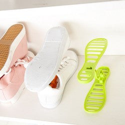 One-pair Mini Plastic Shoe Rack Organizer - Accessories for shoes