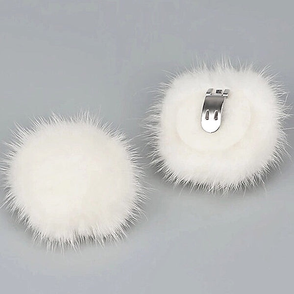 Elegant Pompom Shoe Clip - 5cm - Accessories for shoes