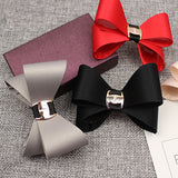 Gorgeous Fabric Ribbon Bow - Glue On - Accessories for shoes