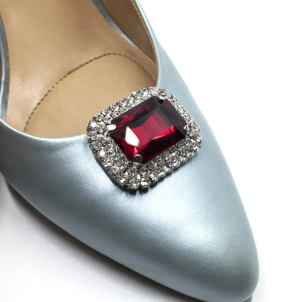 Fashion Crystal Rhinestone Shoe Clip - Accessories for shoes