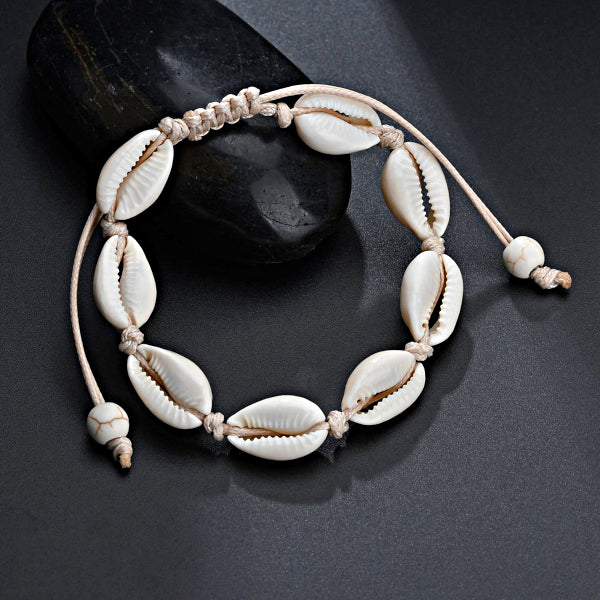 Vintage Sea Shell Anklet Bracelet Strap - Accessories for shoes