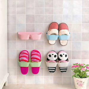 Adhesive Wall Mounted Shoe Rack - Accessories for shoes