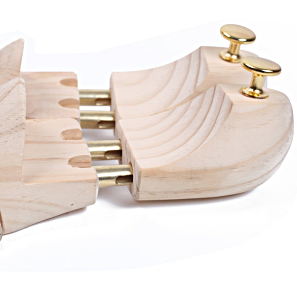 Men's Pine Wood Adjustable Shoe Tree - Accessories for shoes